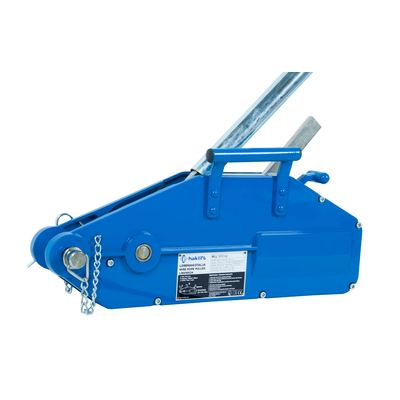 Aluminium body wire rope hoists