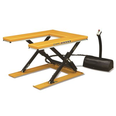 U-shaped lifting tables / working platforms
