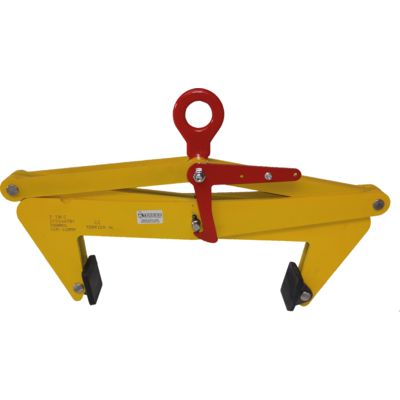 Vertical lifting clamp TBLC - Non marking
